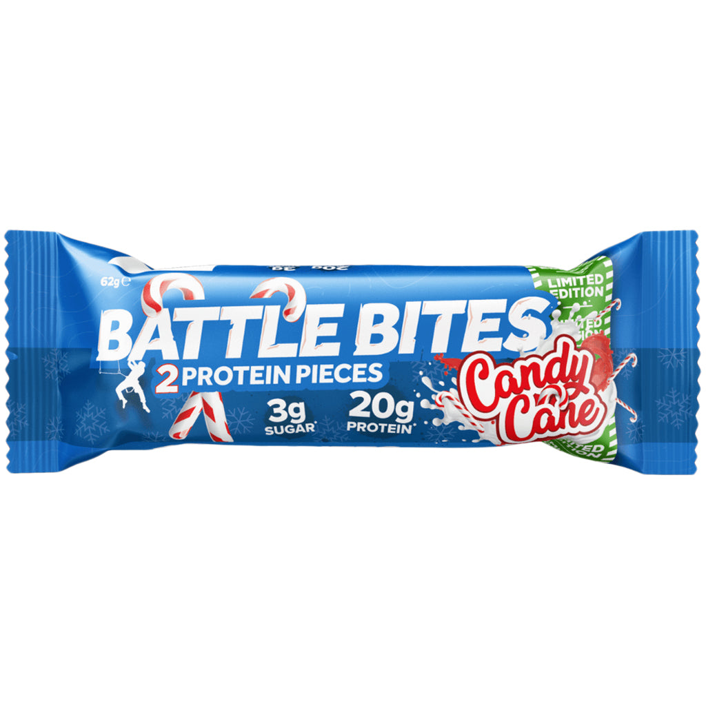Battle Bites Candy Cane Bar 62g