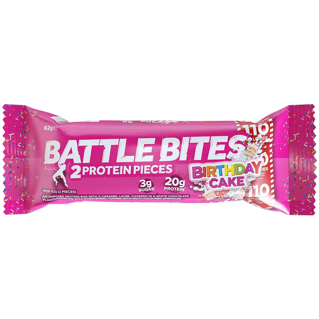 Battle Bites Birthday Cake Bar 62g