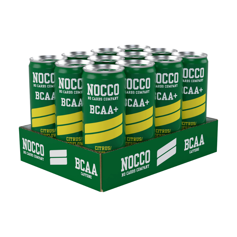 Nocco BCAAs 330ml Elderflower & Citrus (Case of 12)