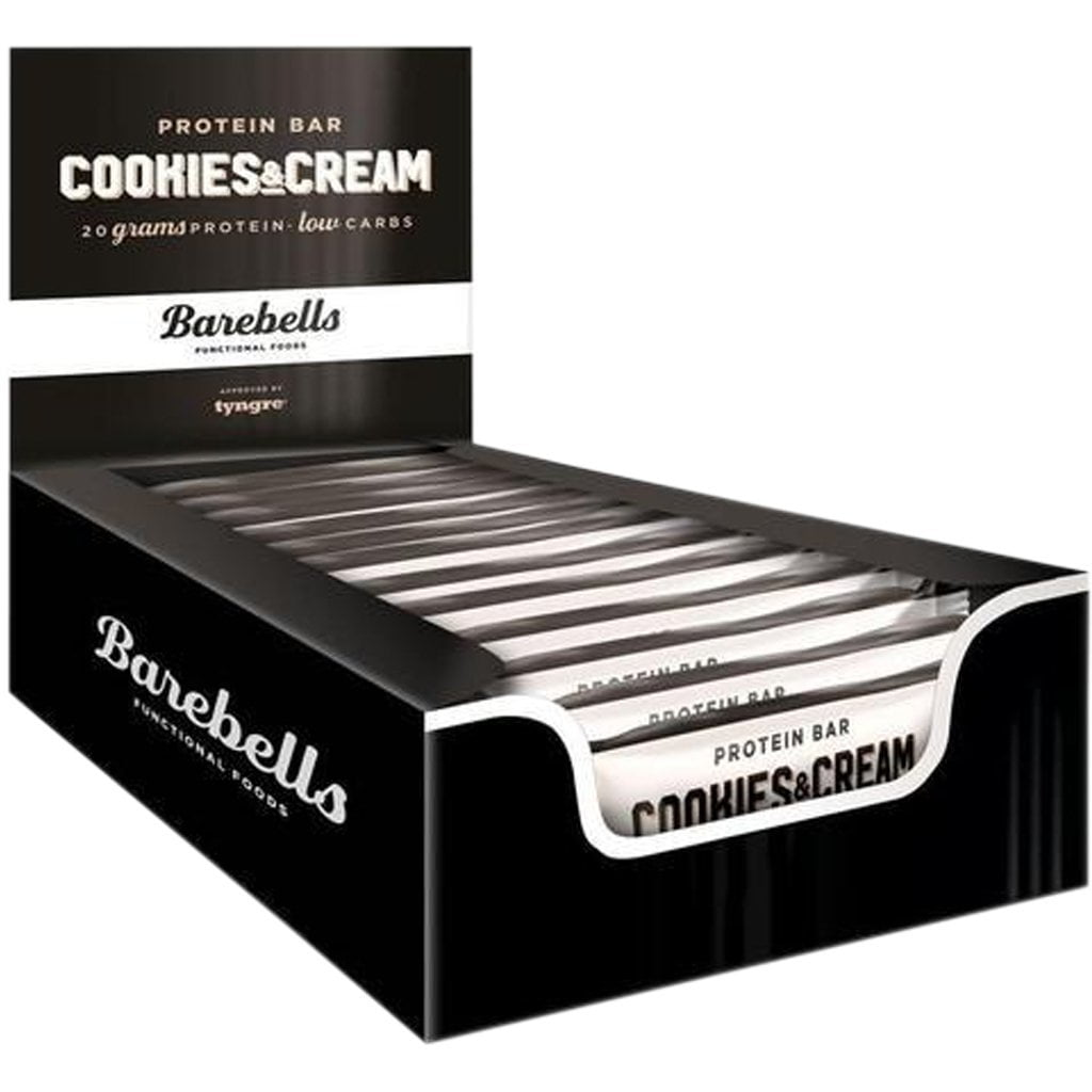 Barebells Cookies and Cream Bar - 12 x 55g