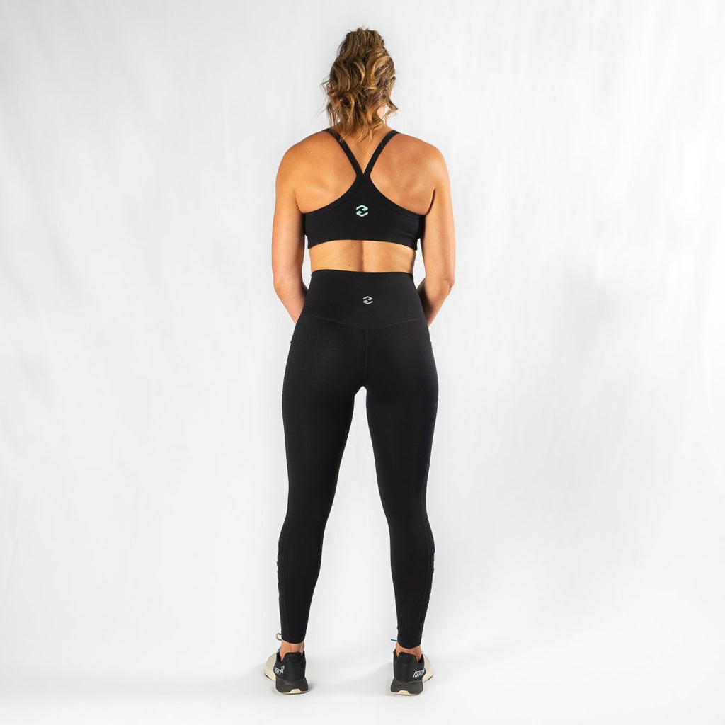 Heavy Rep Gear Energy HVY REP Black / Neo Mint Sports Bra