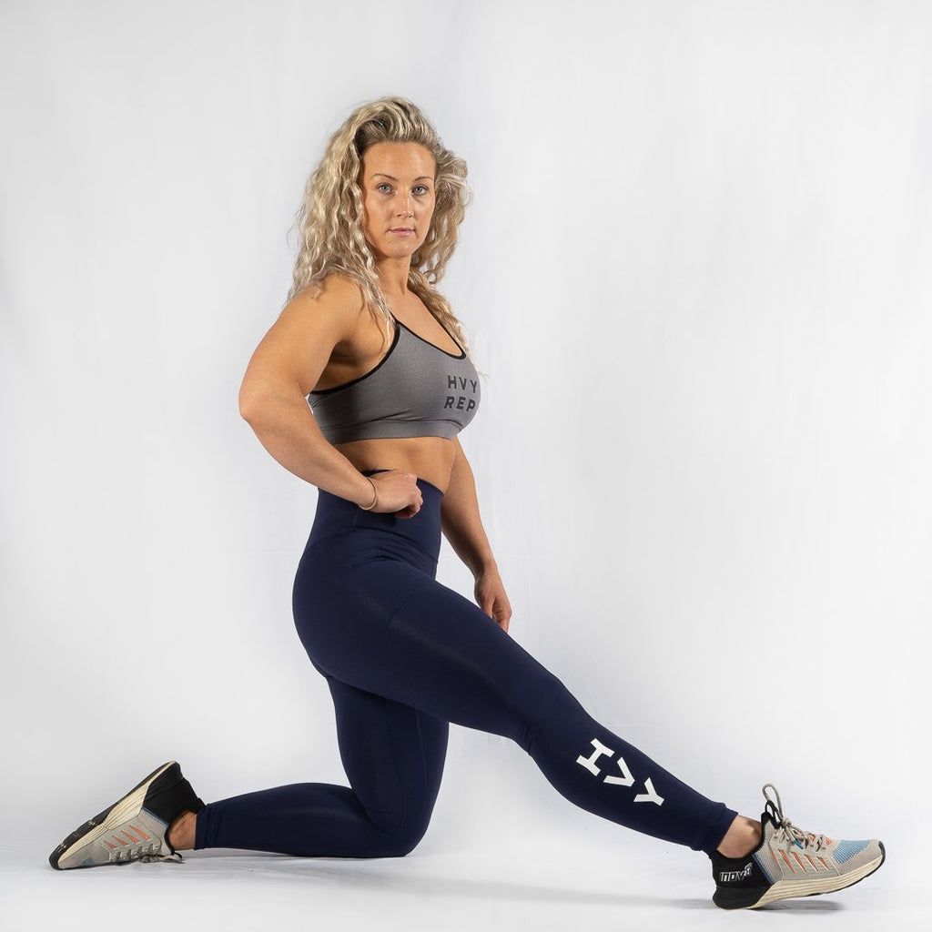 Heavy Rep Gear Nuluxe HVY REP Navy / White Leggings