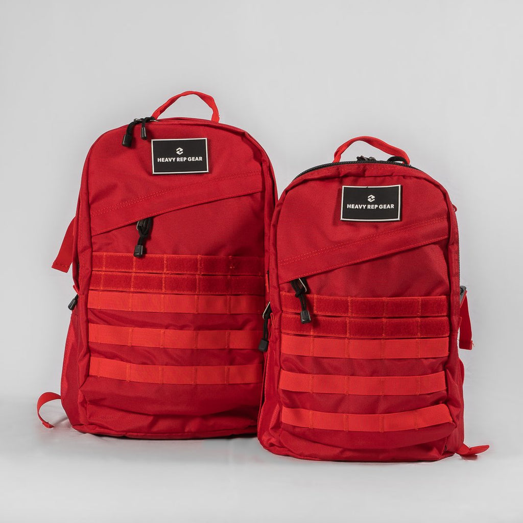 Heavy Rep Gear Viper 25L Red Rucksack
