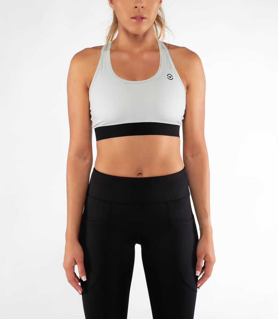 Virus ECo55 | Raven Stay Cool Sports Bra Aluminum