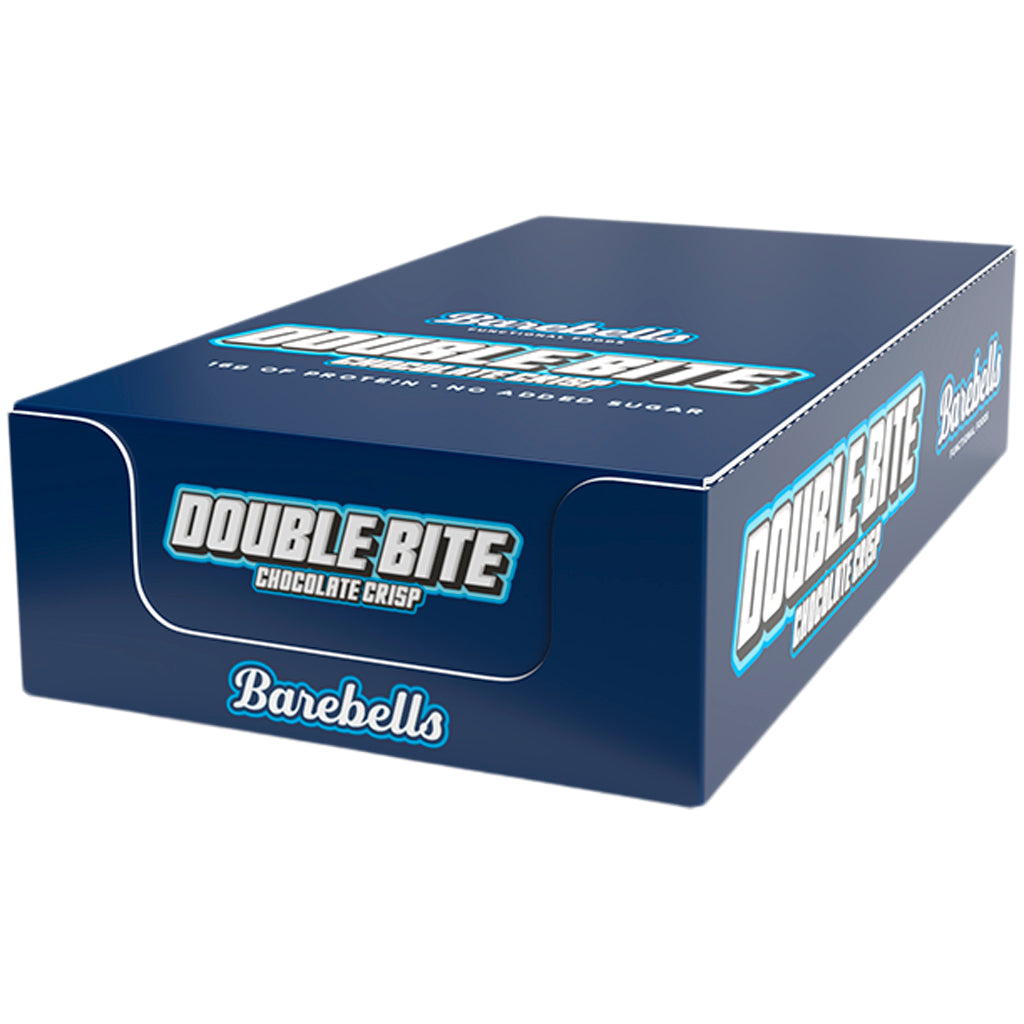 Barebells Double Bite Chocolate Crisp Protein Bar 12 x 55g
