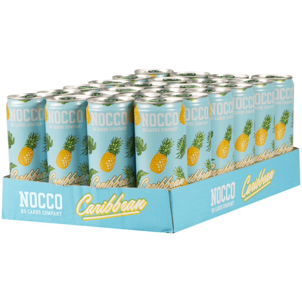 Nocco BCAAs 330ml Caribbean (Case of 24)