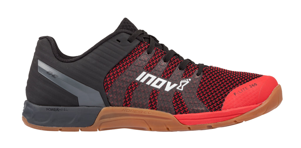 Inov8 F-Lite 260 Knit Red / Gum Training Shoes