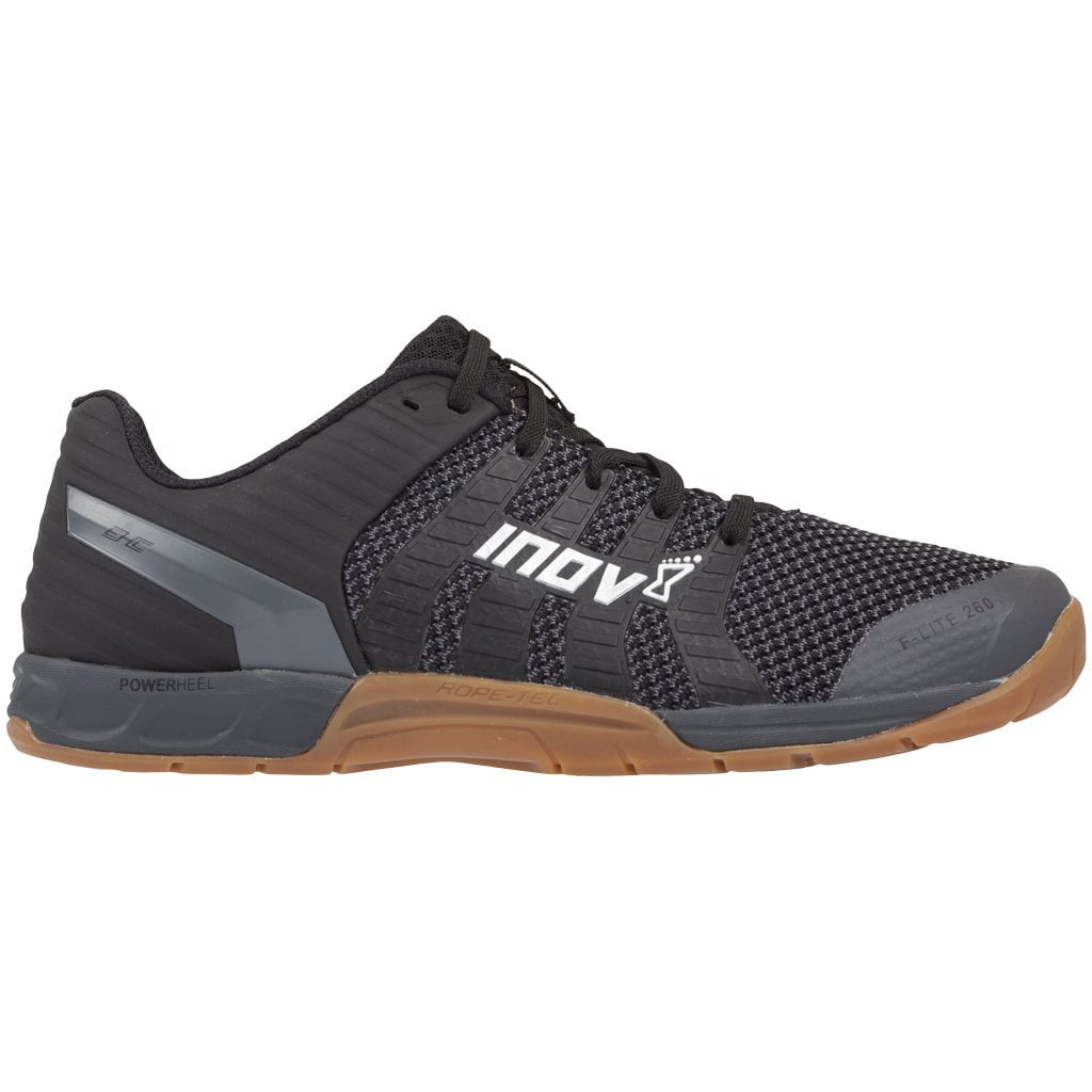 Inov8 F-Lite 260 Knit Black / Gum Training Shoes
