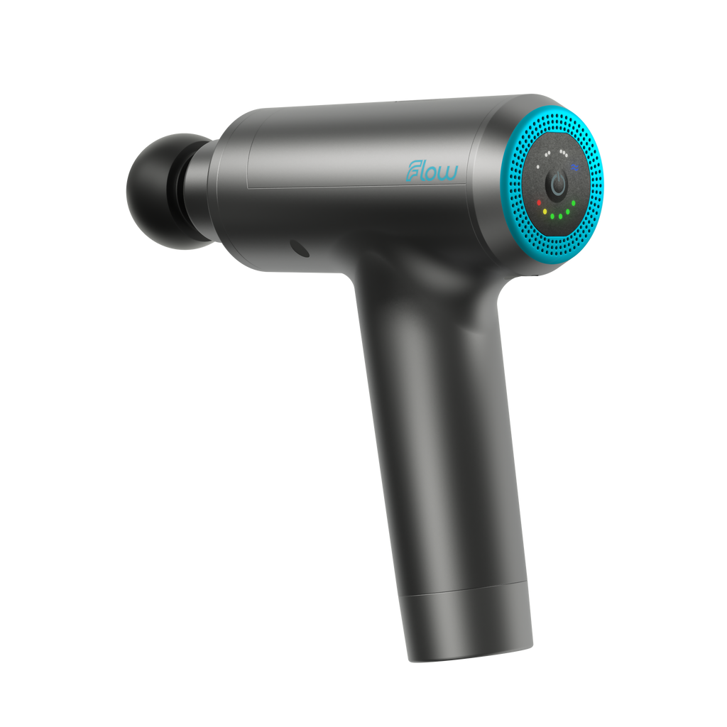 Flow Sports Tech Flow Mini Neon Blue Massage Gun