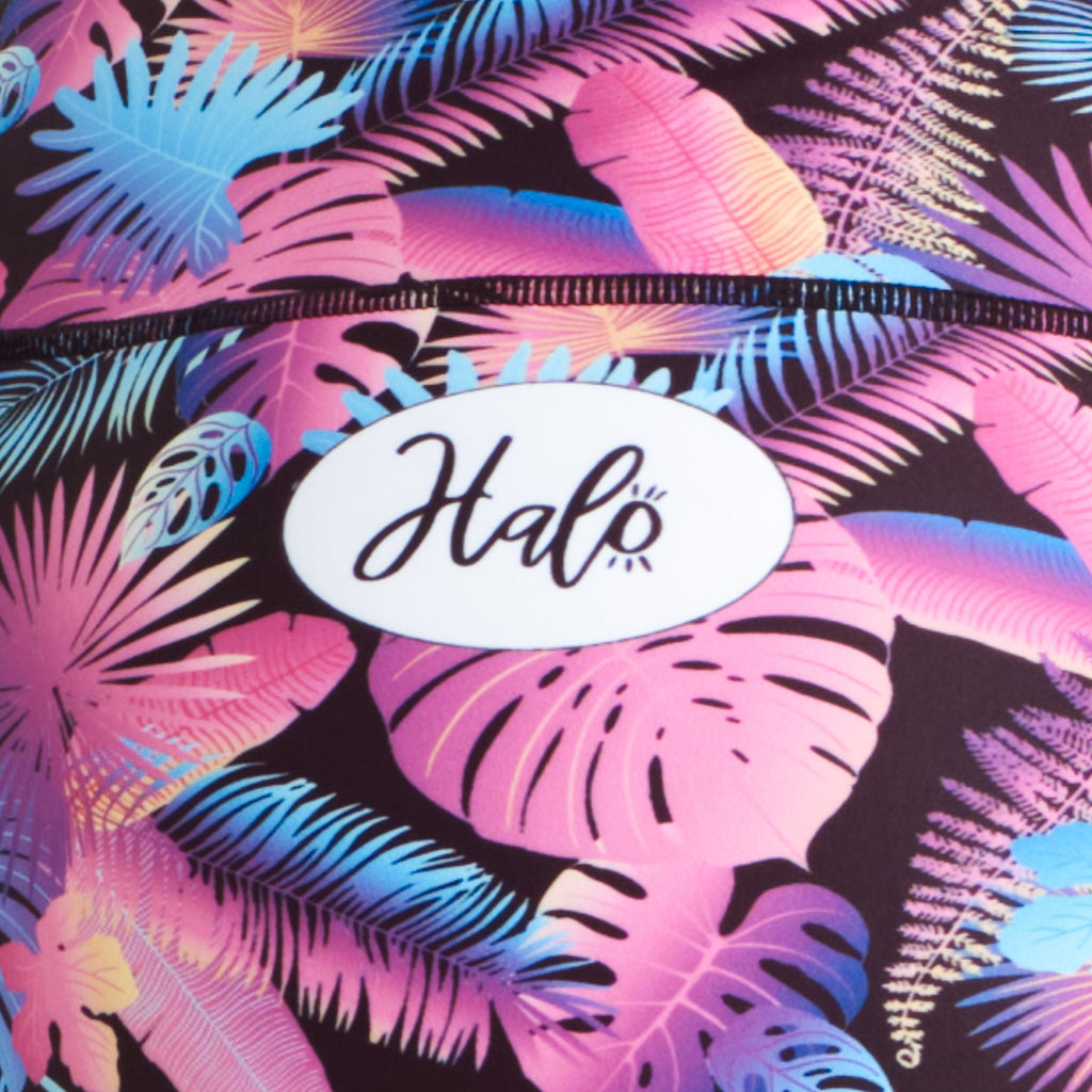Halo Neo Tropic High Rise Roll Down Booty Shorts