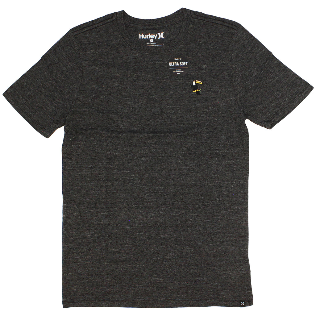 Hurley Toucan Tri-Blend Short Sleeve Black