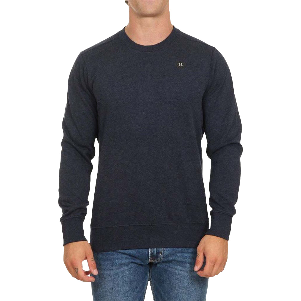 Hurley Therma Protect Crew Fleece Obsidain Heather