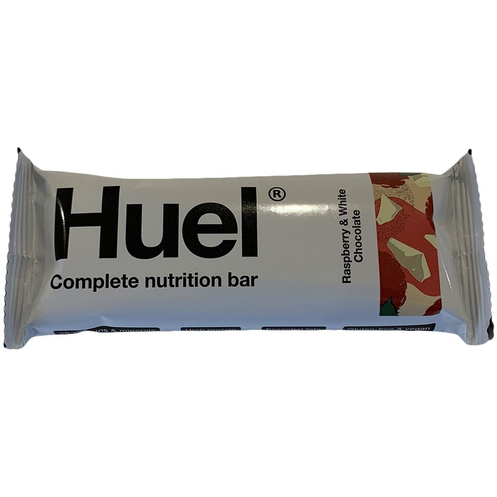 Huel White Chocolate & Raspberry Bar v3.1 49g - SHORT DATED