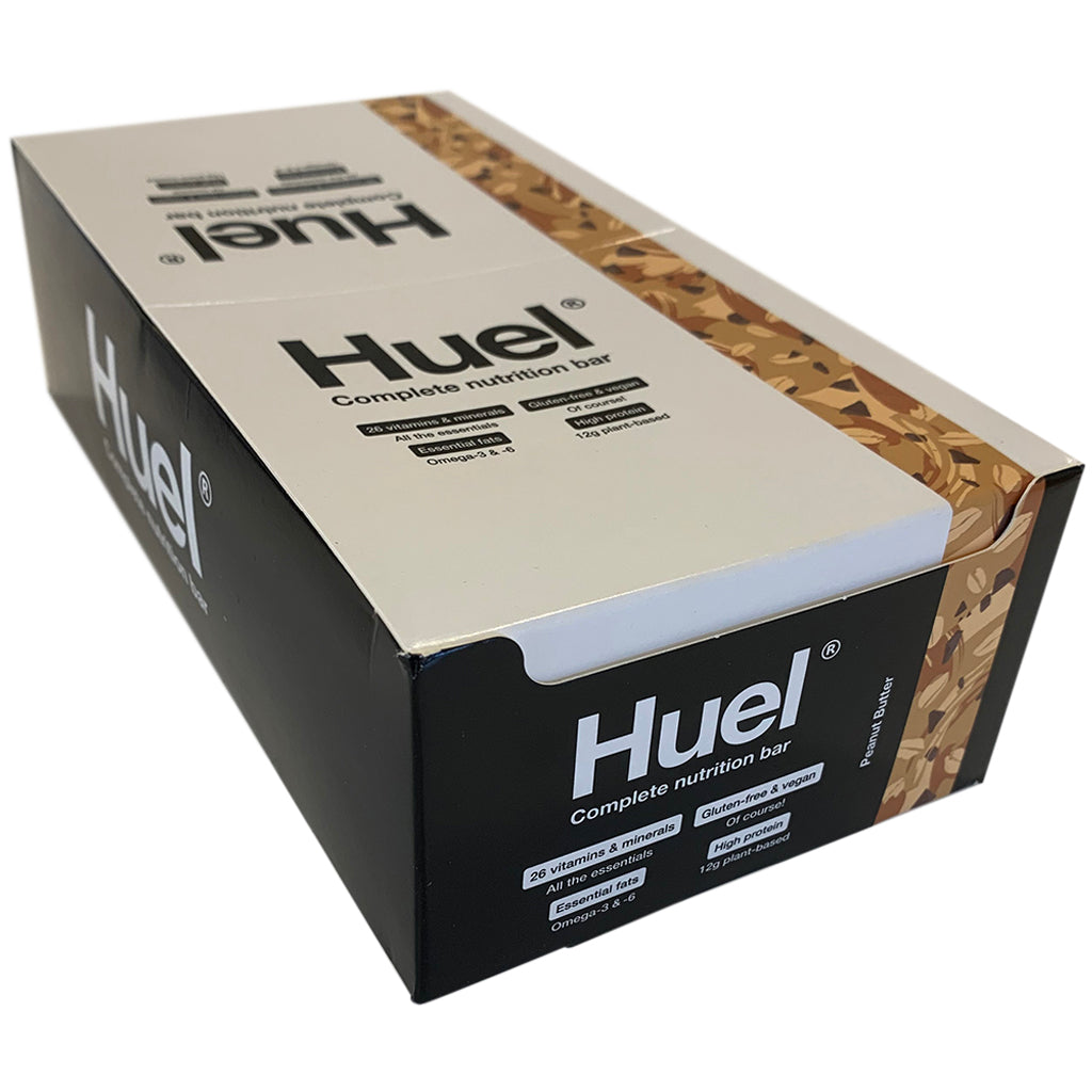 Huel Peanut Butter Bar v3.1 - box of 15 x 49g