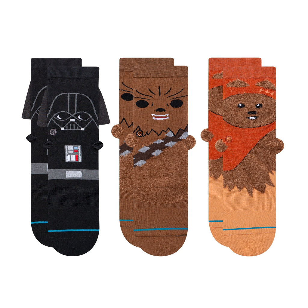 Stance Star Wars 3D 3Pack Boys Sock