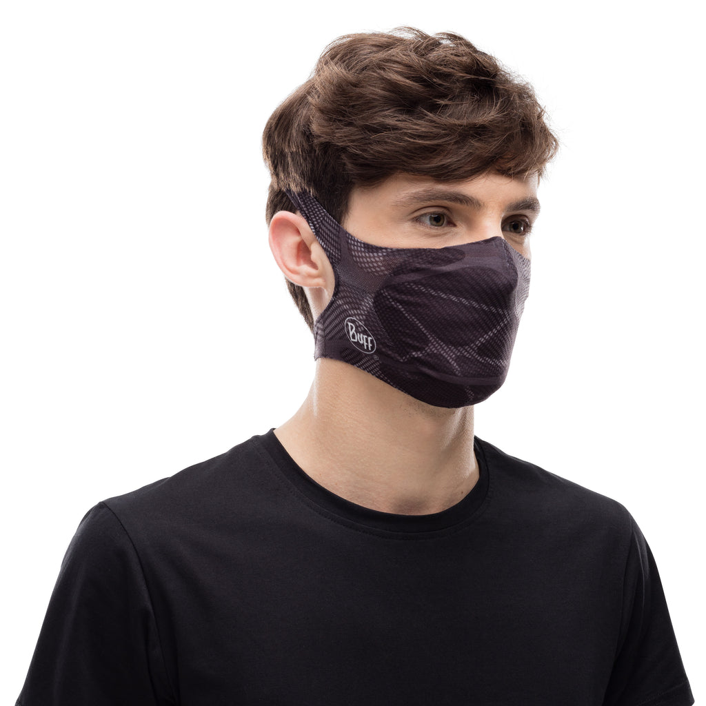 Buff Filter Mask Ape-X Black