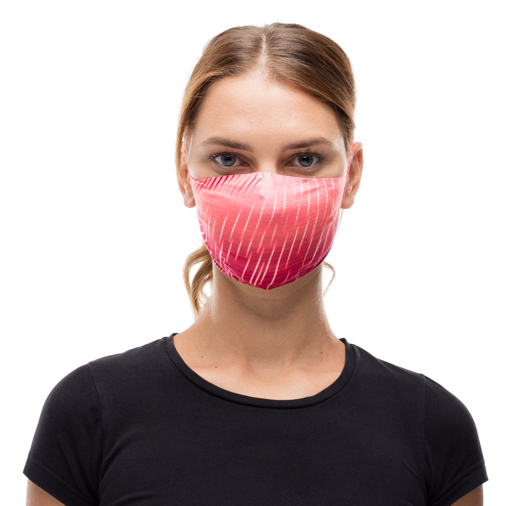 Buff Filter Mask Keren Flash Pink