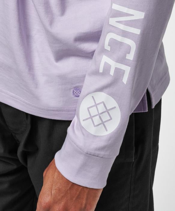 Stance Basis Long Sleeve T-Shirt Lavender