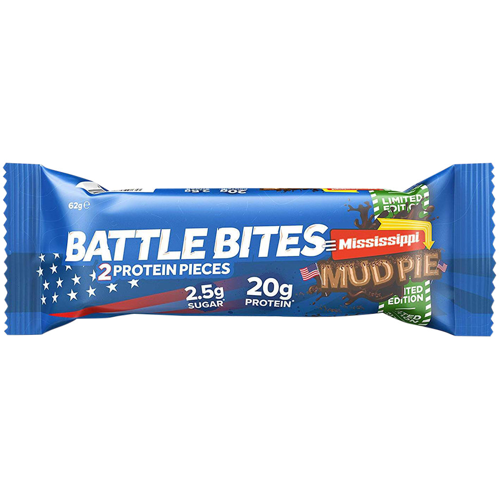 Battle Bites Mississippi Mud Pie Bar 62g