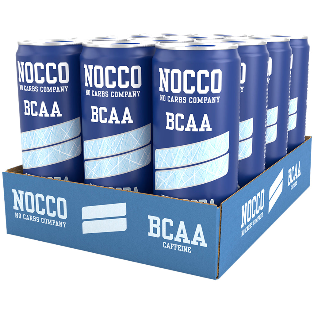 Nocco BCAAs 330ml Ice Soda (12 pack)