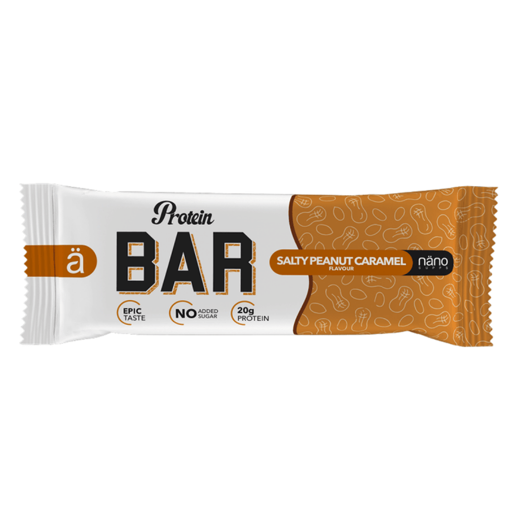 Nano Supps Salty Peanut Caramel Protein Bar