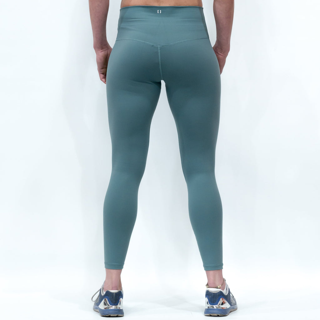 B[ ]X 7/8 Squat Stretch Leggings Green