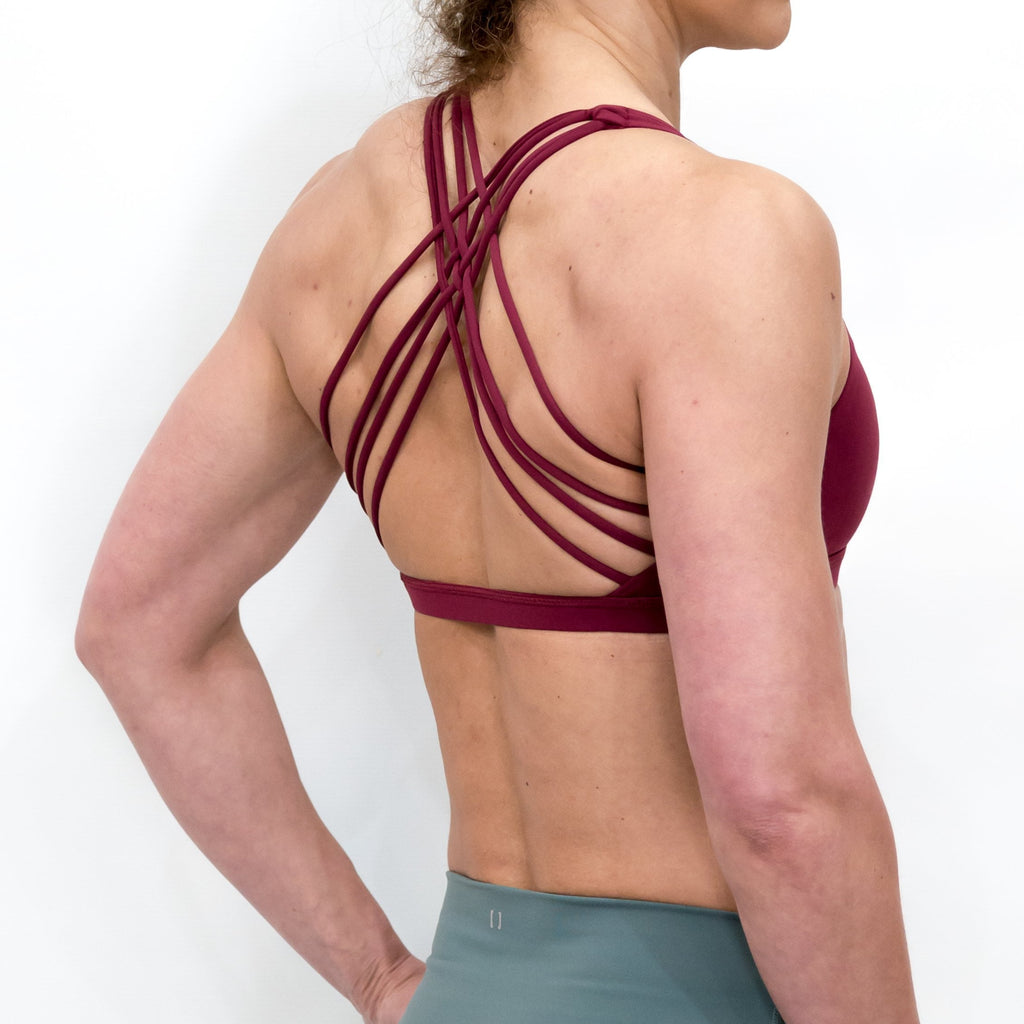 B[ ]X Butterfly Sports Bra Red