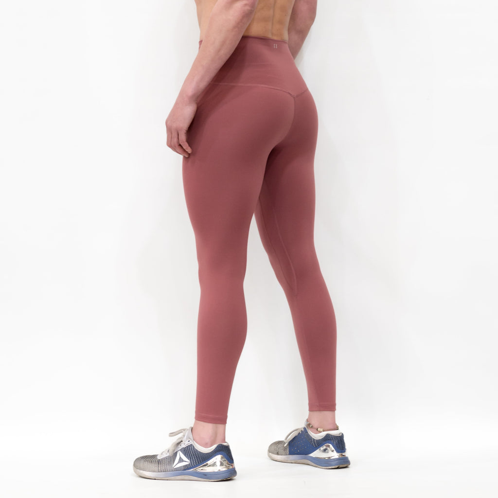 B[ ]X 7/8 Squat Stretch Leggings Red