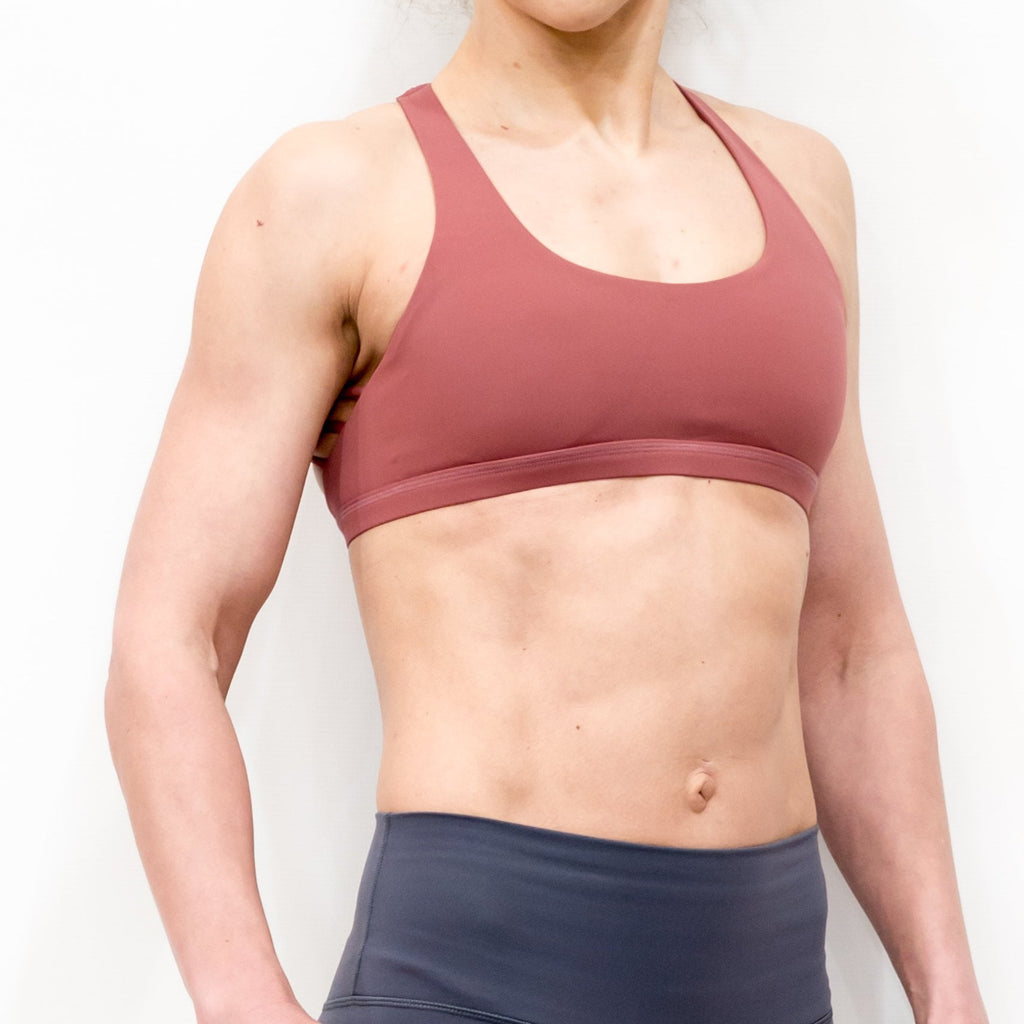 B[ ]X Butterfly Sports Bra Dusty Pink
