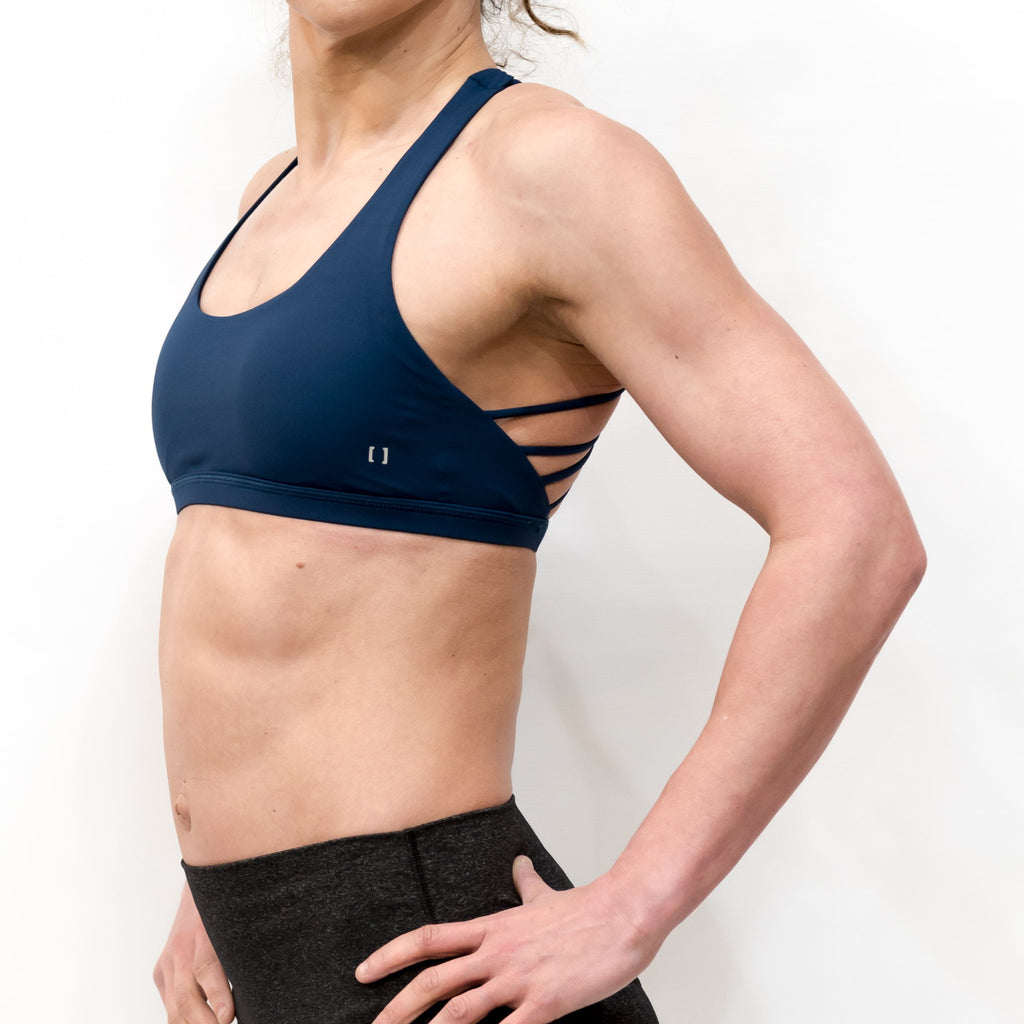 B[ ]X Butterfly Sports Bra Blue