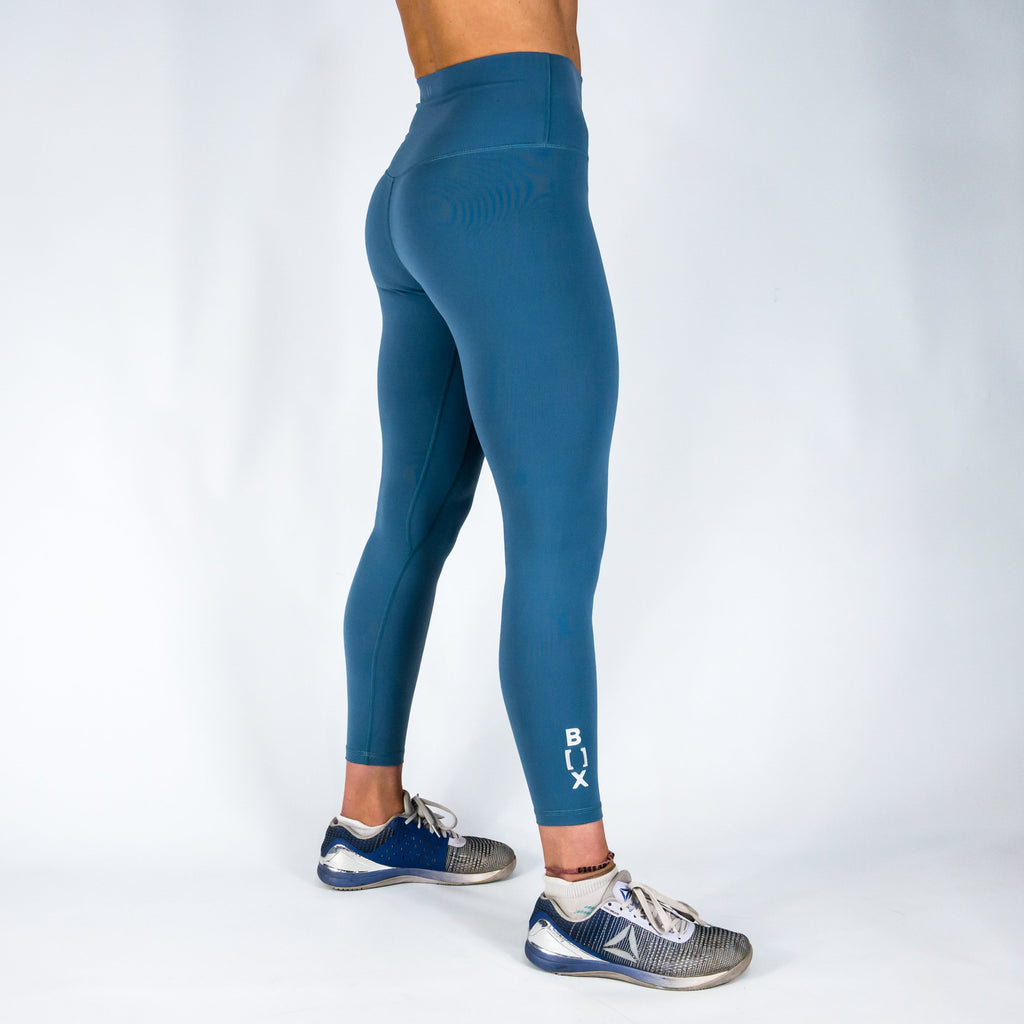 B[ ]X 7/8 Squat Stretch Leggings Dusty Blue