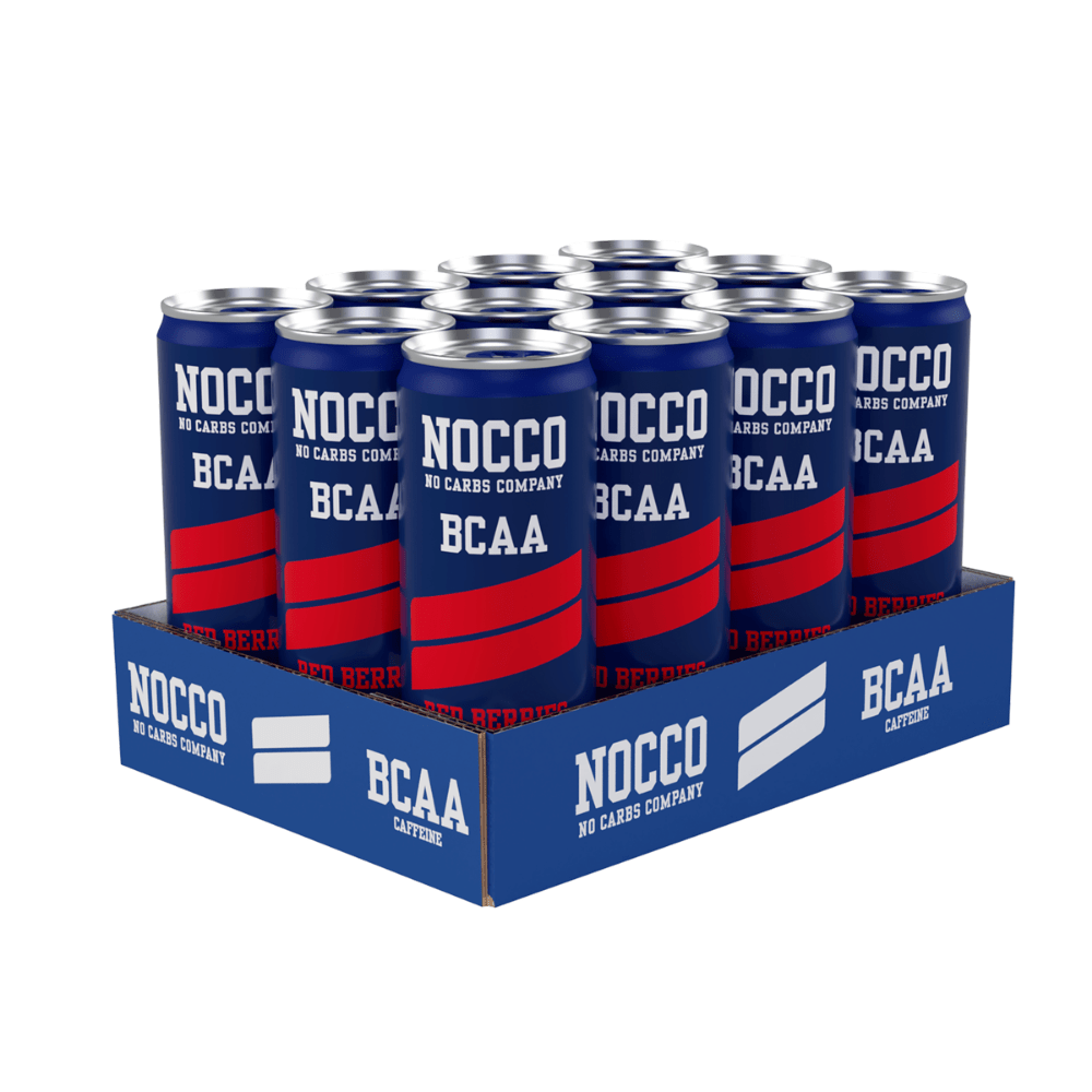 Nocco BCAAs 330ml Red Berries (Case of 12)