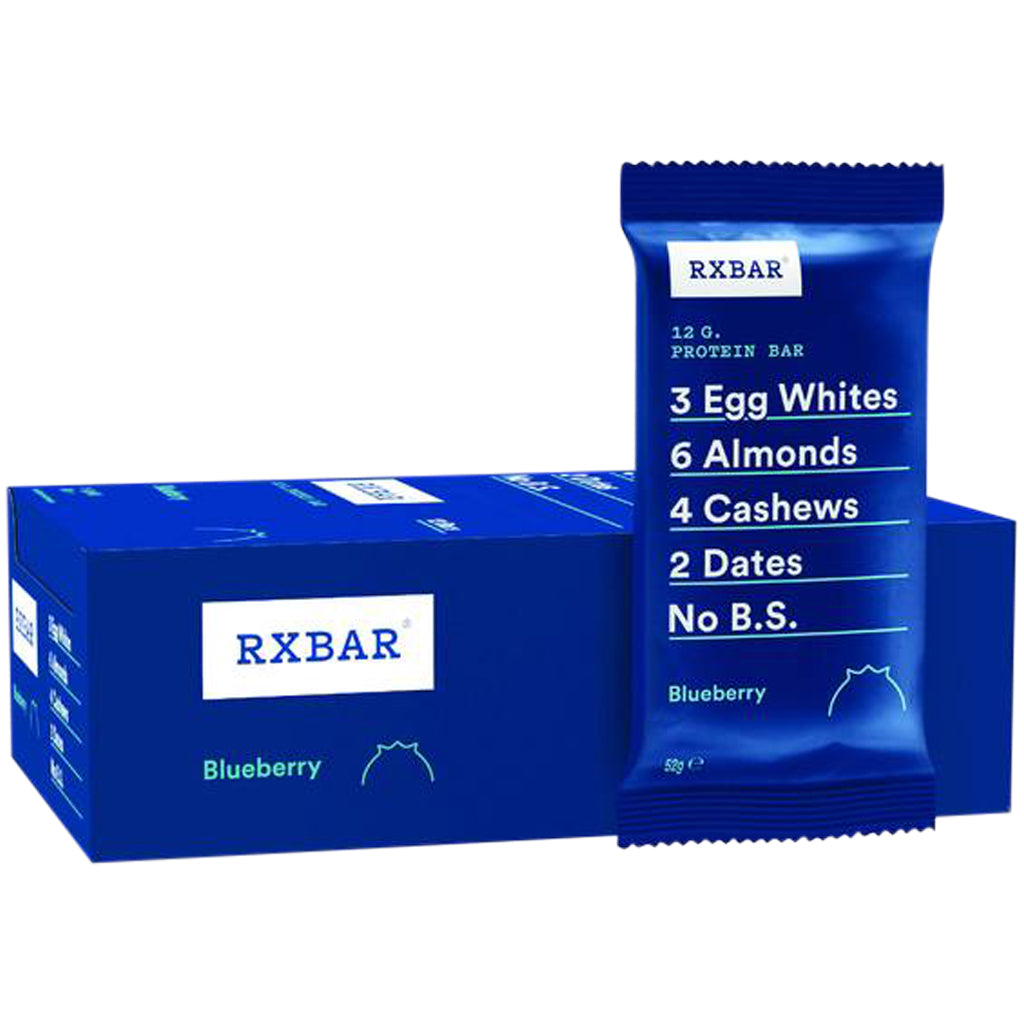 RX Bar Blueberry Box of 12 x 55g