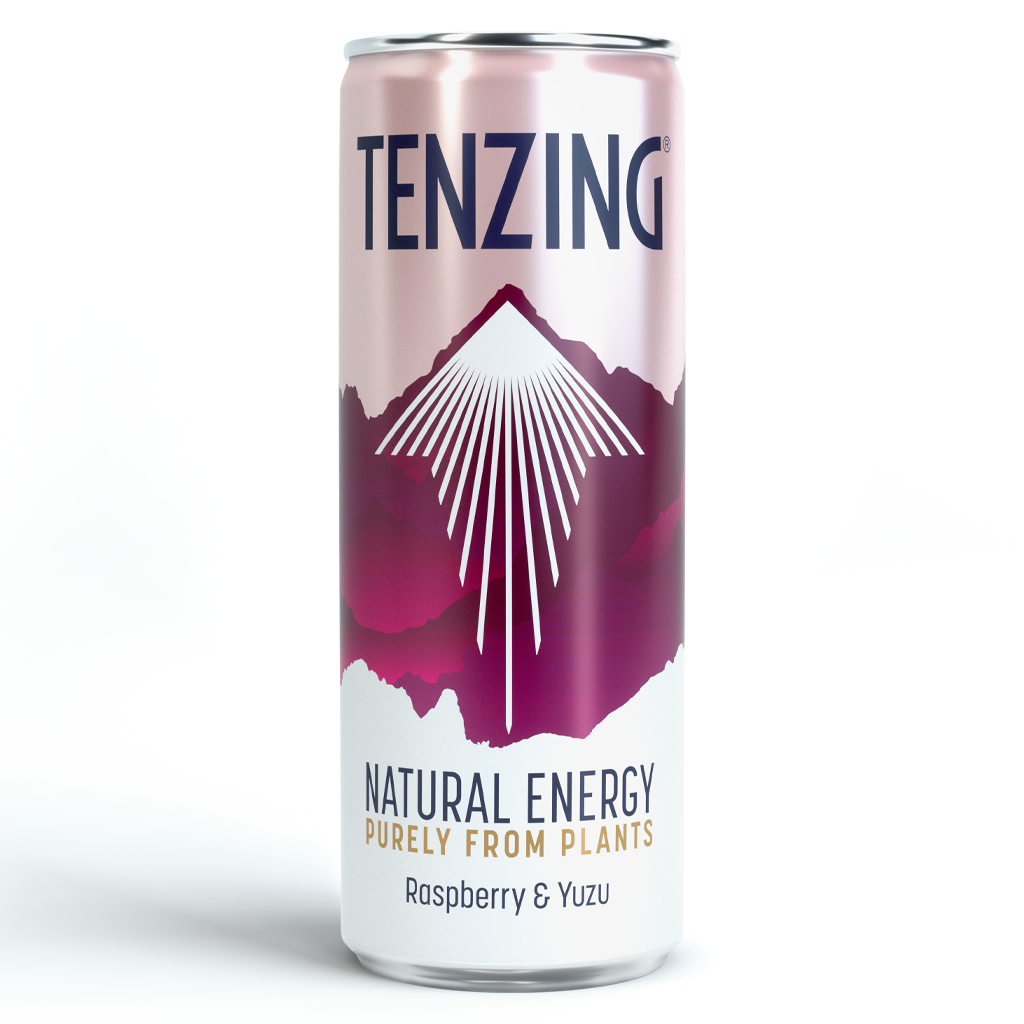 Tenzing Natural Energy Raspberry & Yuzu 250ml