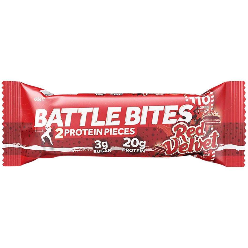 Battle Bites Red Velvet Bar 62g