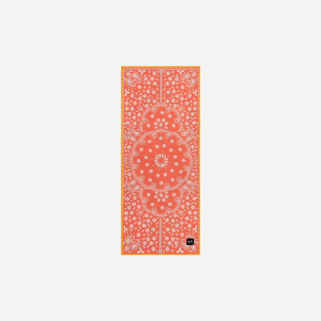 Slowtide Paisley Park Red Microfibre Fitness Towel