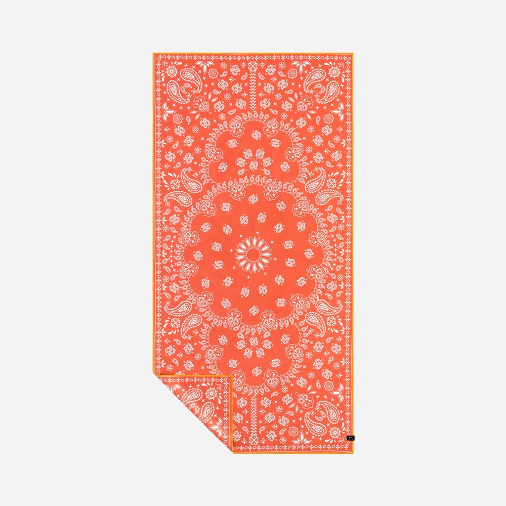 Slowtide Paisley Park Red Travel Towel