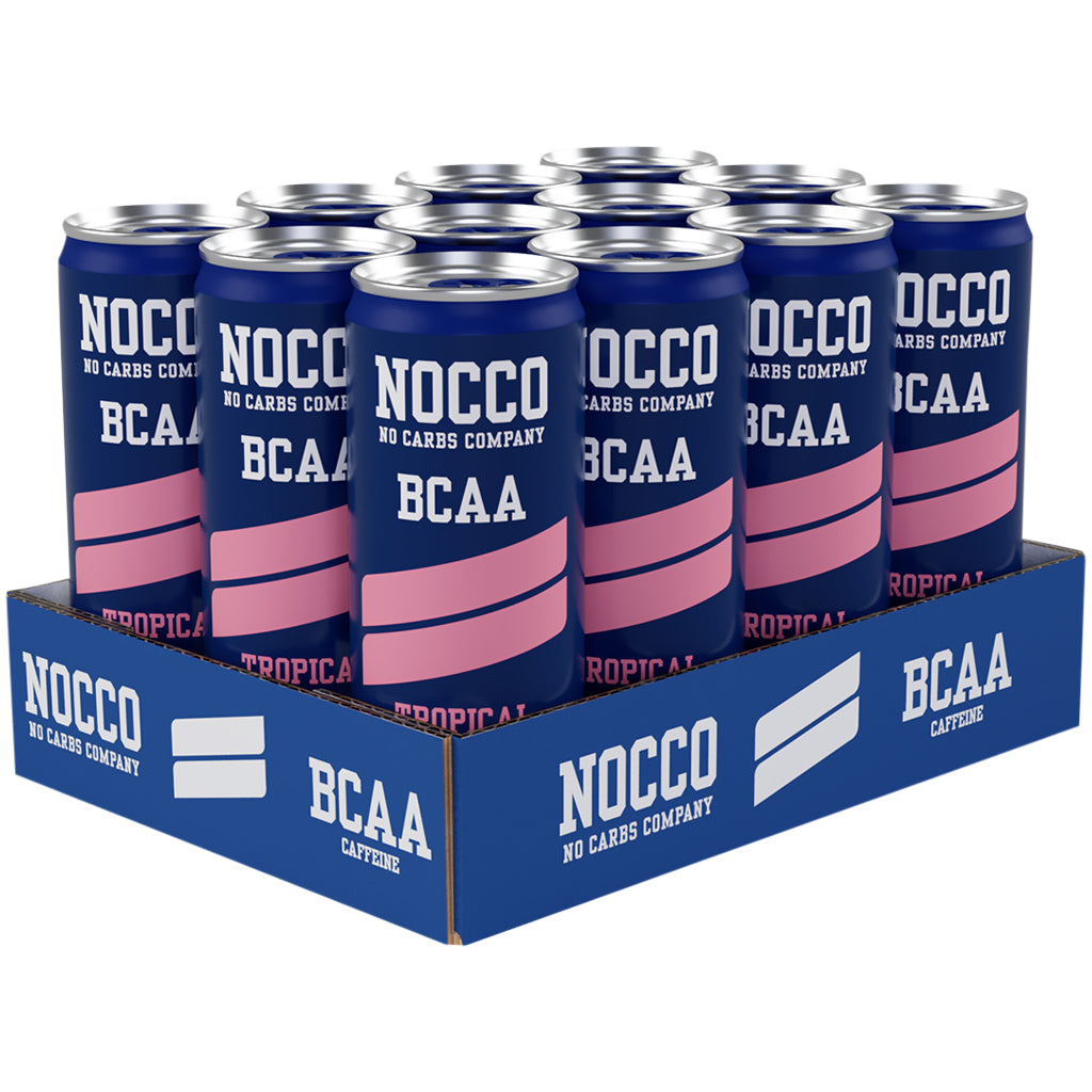 Nocco BCAAs 330ml Tropical (Case of 12)