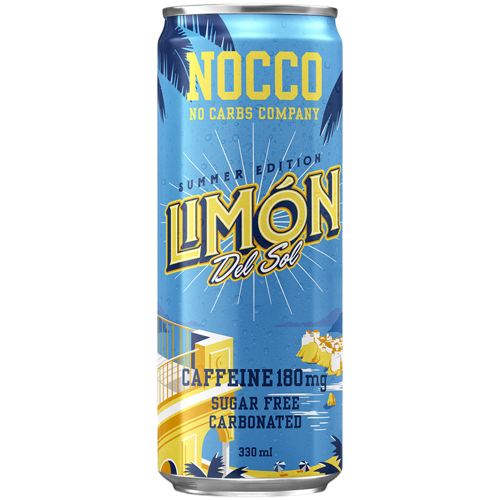 Nocco BCAAs 330ml Limon Del Sol (Case of 12)