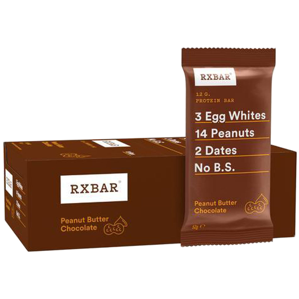 RX Bar Peanut Butter Chocolate Box of 12 x 55g