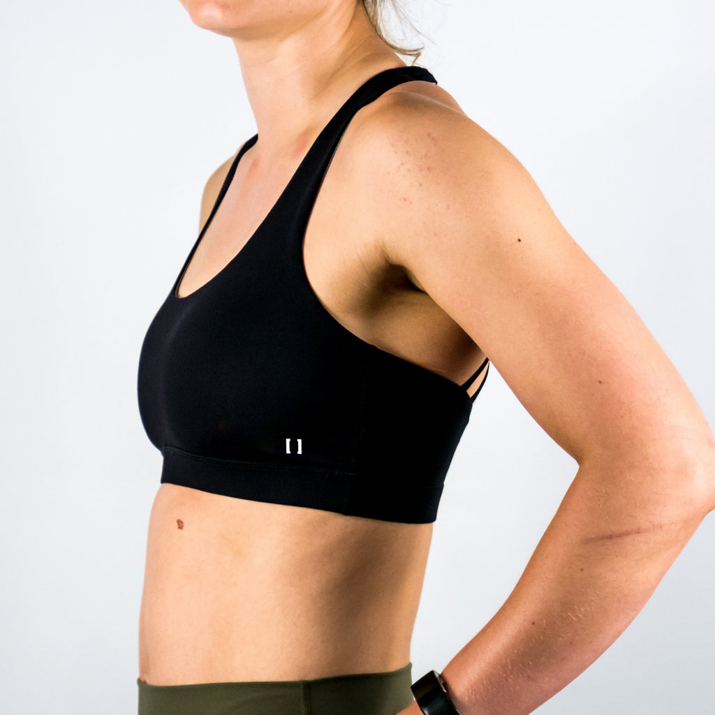 B[ ]X Butterfly Sports Bra Black