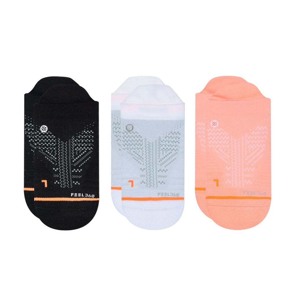 Stance Training Socks Womens Train Tab 3 Pack Multi