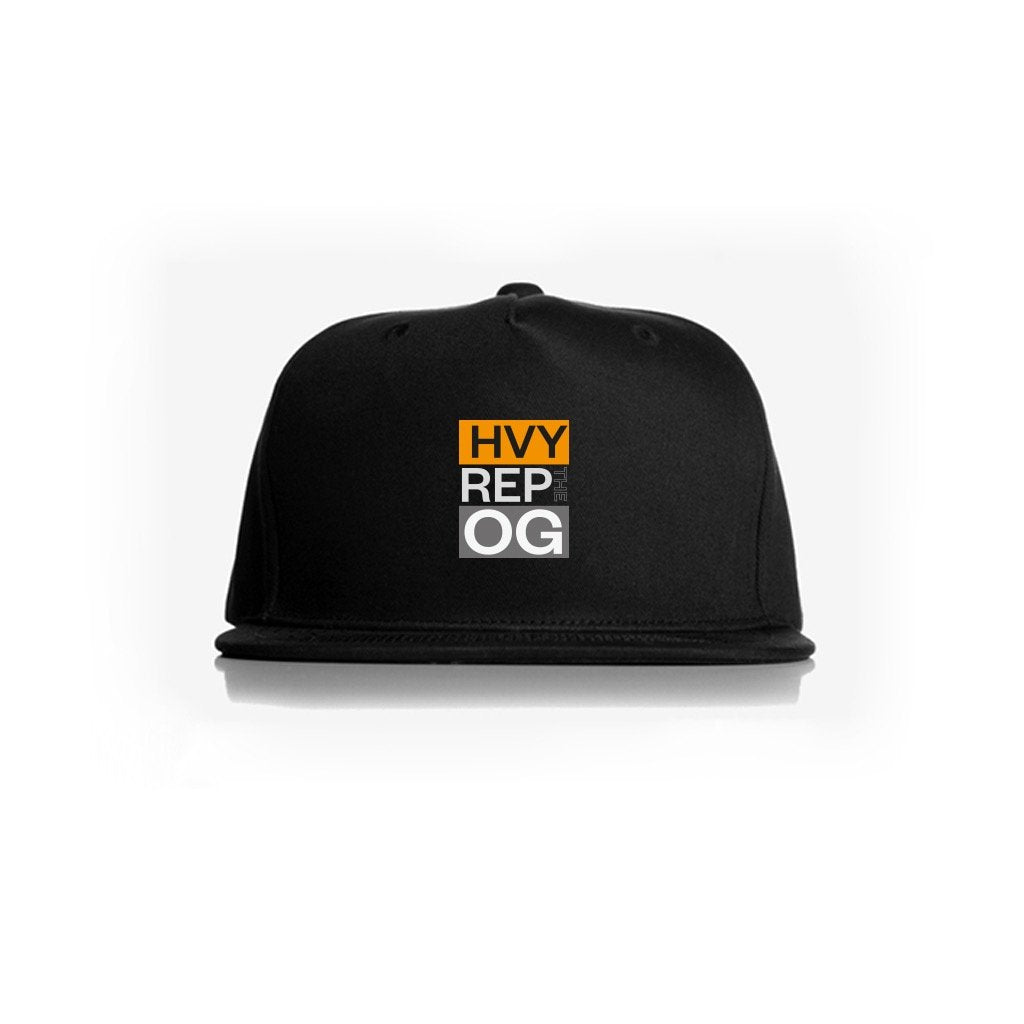 Heavy Rep Gear OG Classic Black Snapback