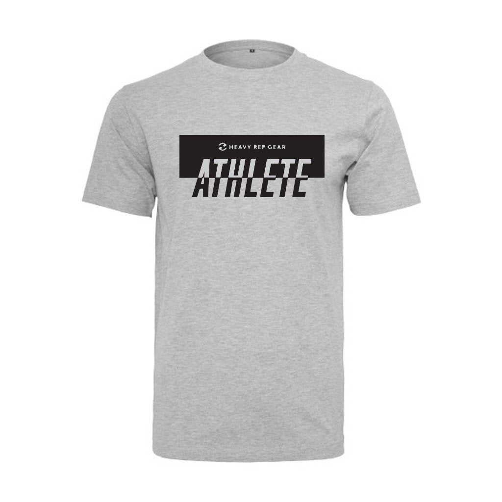 Heavy Rep Gear Athlete Luxe Heather Grey T-Shirt