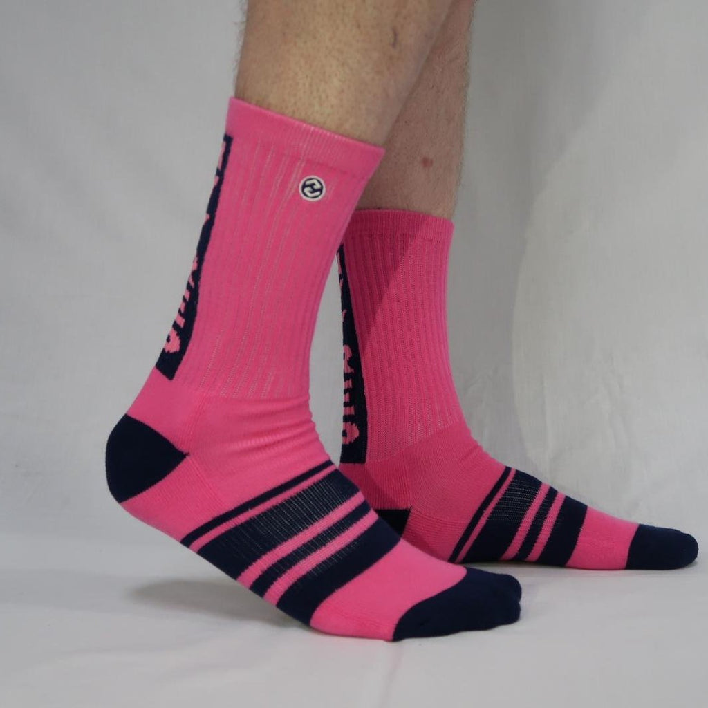 Heavy Rep Gear Vertigo HVY REP Kiss Pink / Navy Sock