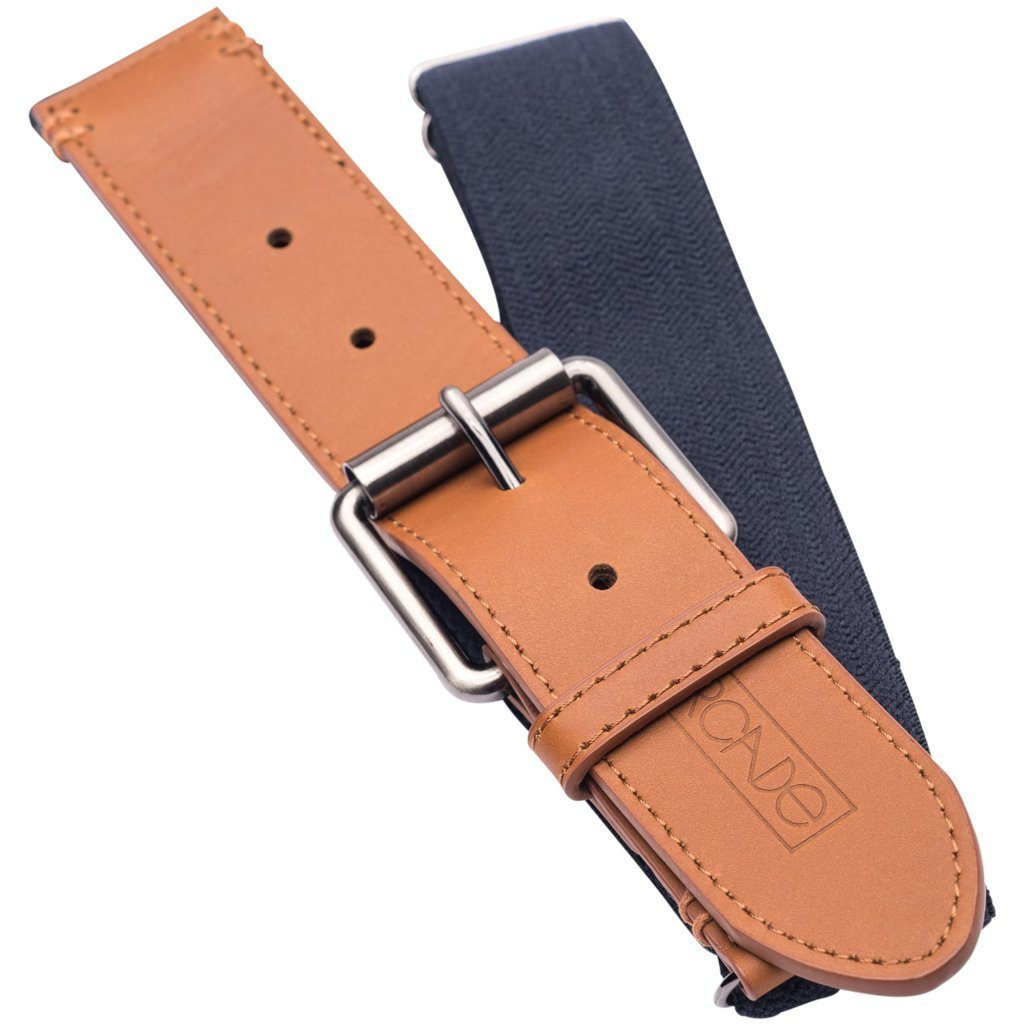 Belts - Arcade The Crawford Navy Belt