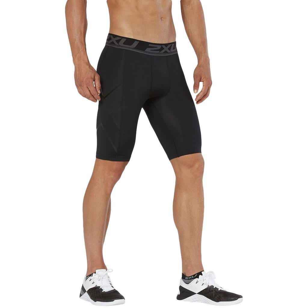 Compression Clothing - 2XU Accelerate Comp. Short Black/Arrow Stripe Nero