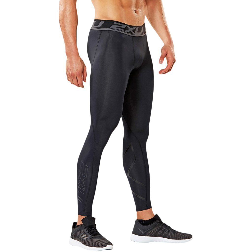 Compression Clothing - 2XU Accelerate Compression Tight Black/Arrow Stripe Nero