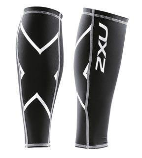 Compression Clothing - 2XU Compression Calf Guard Black