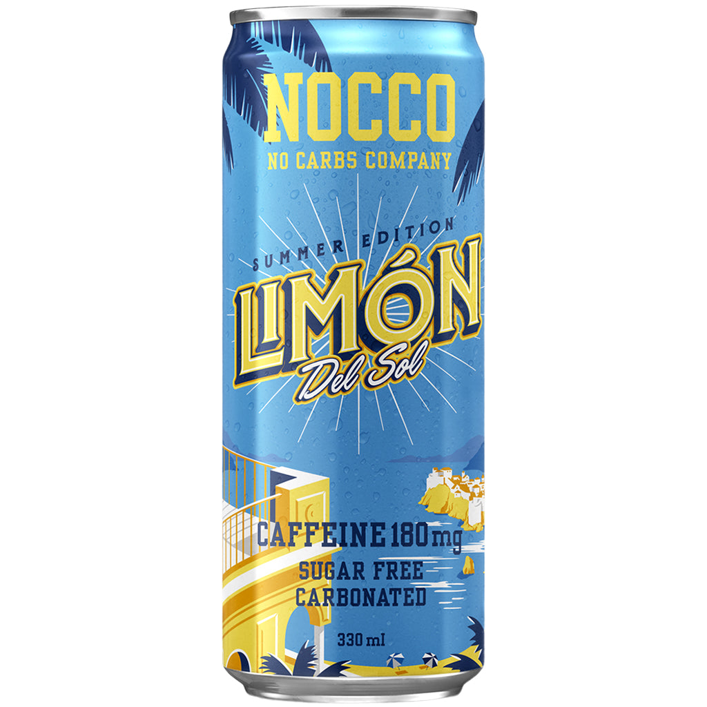 Nocco BCAAs Limon Del Sol 330ml Can